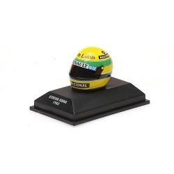 Casque Helmet 1/10 Ayrton Senna F1 1985 Minichamps 540388512