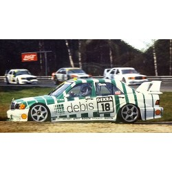 Mercedes Benz 190E 2.5-16 Evo 2 18 DTM 1991 Fabien Giroix Minichamps 155913618