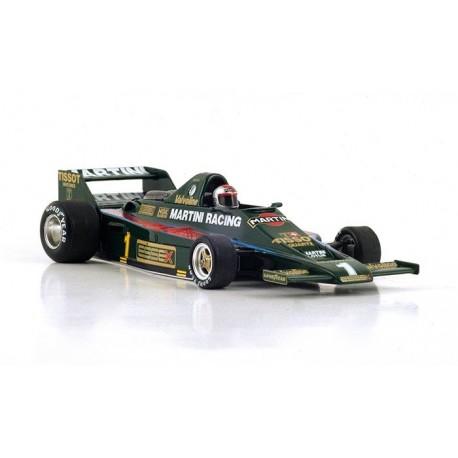 Lotus 80 F1 Espagne 1979 Mario Andretti Spark S4240