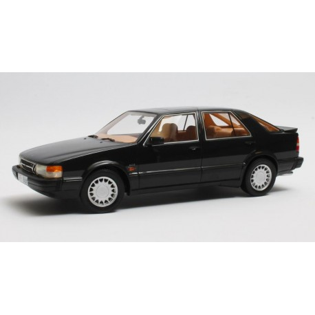 Saab 9000 Turbo 1984 Black Metallic Cult Models CML089-2