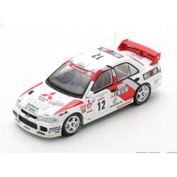 Mitsubishi Lancer Evolution III 12 Rallye Tour de Corse 1995 3ème Aghini - Farnocchia Spark S6506