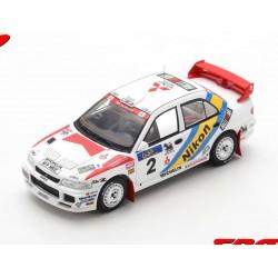 Mitsubishi Lancer Evolution III 2 Rallye Hong Kong Beijing 1995 Winner Eriksson - Parmander Spark S6507