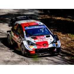 Toyota Yaris WRC 33 Rallye de Croatie 2021 2ème Evans - Martin Spark S6589