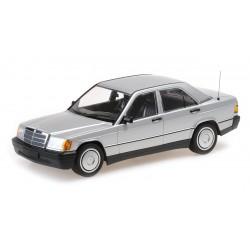 Mercedes Benz 190E W201 1982 Silver Minichamps 155037004