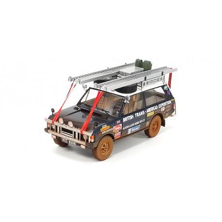 Range Rover dirty version British Trans-Americas Expedition 1971 1972 Almost Real ALM810113