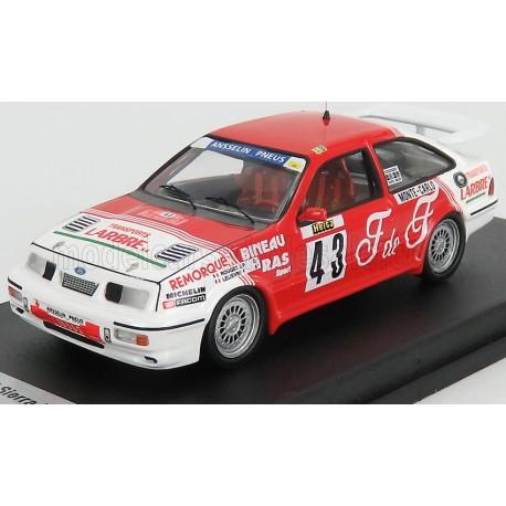 Ford Sierra RS Cosworth 43 Rallye Monte Carlo 1988 Rouget - Lelievre Trofeu TRORRFR29