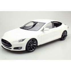 Tesla Model S 2012 White Top Marques TM12-03A