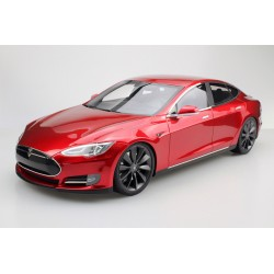 Tesla Model S 2012 Red Top Marques TM12-03B
