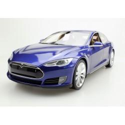 Tesla Model S 2012 Blue Top Marques TM12-03C