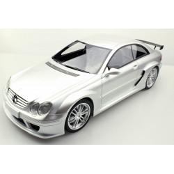 Mercedes Benz CLK DTM 2004 Silver Top Marques TM12-14A