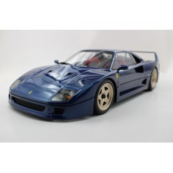 Ferrari F40 1987 Blue Metallic Top Marques TM12-17E
