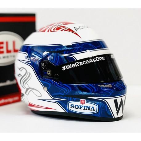 Casque Helmet 1/2 Nicholas Latifi F1 2021 Bell
