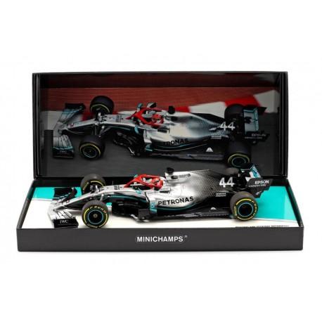 Mercedes F1 W10 EQ Power+ 44 F1 Hommage Lauda Winner Monaco 2019 Lewis Hamilton Minichamps 113190644