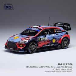 Hyundai i20 Coupe WRC 8 Monza Rally 2020 O. Tanak - M. Järveoja IXO RAM769
