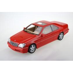 Mercedes Benz Cl 600 7.0 AMG 1998 Red Top Marques TM43-06A