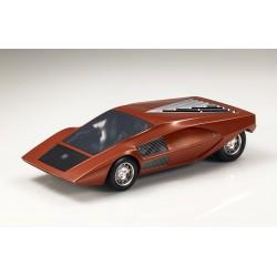 Lancia Stratos Zero Concept 1970 Orange Top Marques TM43-09A