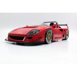 Ferrari F40 LM Beurlys Barchetta 1995 Red Top Marques TM43-10B
