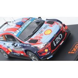 Hyundai i20 WRC 11 Rallye Monte Carlo 2019 Neuville Gilsoul IXO IXO24RAL002