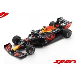 Aston Martin Red Bull Honda RB16 33 F1 Winner 70ème Anniversaire Silverstone 2020 Max Verstappen Spark 18S486