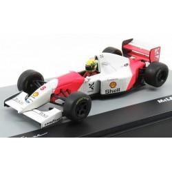 Mclaren Ford MP4/8 8 F1 Grand Prix d'Australie 1993 Ayrton Senna Edicola F1BRACOL027-29567