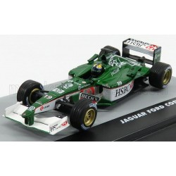 Jaguar Ford Cosworth R2 19 F1 Grand Prix du Brésil 2001 Luciano Pucci Burti Edicola F1BRACOL021-28630