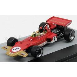 Lotus Ford 72D 8 F1 Grand Prix d'Allemagne 1971 Emerson Fittipaldi Edicola F1BRACOL014-26177