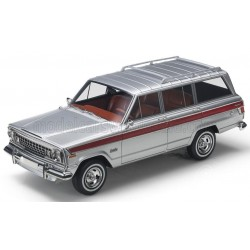 Jeep Grand Wagoneer 1979 Silver Top Marques TM43-019G
