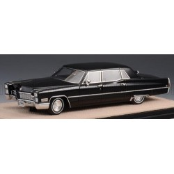 Cadillac Fleetwood Series 75 Limousine 1968 Black Stamp Models STM68102