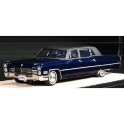 Cadillac Fleetwood Series 75 Limousine 1968 Emperor Blue Metallic Stamp Models STM68101