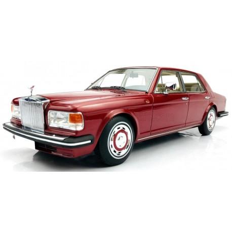 Rolls Royce Silver Spirit 1980 Red Metallic MODELCARSWH 18000RE