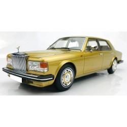 Rolls Royce Silver Spirit 1980 Gold Metallic MODELCARSWH 18000GO