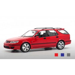 Saab 9-5 Sportcombi 2005 Lazer Red DNA Collectibles DNA000073