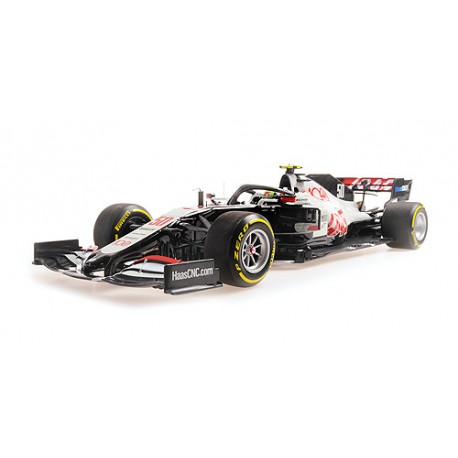 Haas Ferrari VF20 50 F1 Essais FP1 Grand Prix d'Abu Dhabi 2020 Mick Schumacher Minichamps 110201750