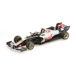 Haas Ferrari VF20 50 F1 Essais FP1 Grand Prix d'Abu Dhabi 2020 Mick Schumacher Minichamps 417201750