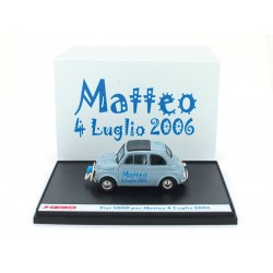 Fiat 500D Matteo 4 Luglio 2006 1960 Blue Brumm S07/01
