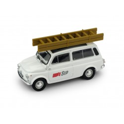 Fiat Autobianchi 500 Commercial Sip Telephonie 1972 White Brumm R507-UPD-2020