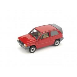 Fiat Panda Van 1982 Red Brumm R505