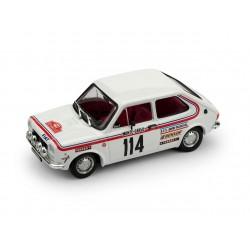 Fiat 127 1 series 114 Rallye Monte Carlo 1973 Dongues - Soulie Brumm R551-UPD-2020