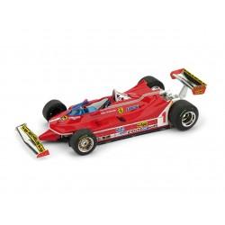 Ferrari 312T5 1 F1 Grand Prix d'Argentine 1980 Jody Scheckter Brumm R574