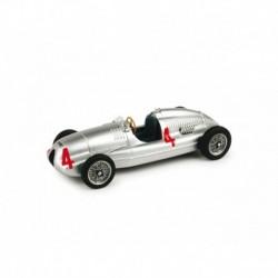 Auto Union Type D 4 F1 Grand Prix d'Angleterre 1938 Tazio Nuvolari Brumm R109-UPD