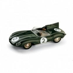 Jaguar Type D 2 24 Heures du Mans 1956 Brumm R150B-UPD