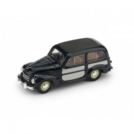 Fiat 500C Belvedere Closed 1951 Blue Grey Brumm R029-02-UPD-2020