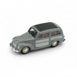 Fiat 500C Belvedere Closed 1951 2 tone Grey Brumm R029-03-UPD-2020