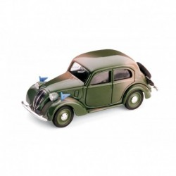 Fiat 508C 1100 Berlina Amry Forces 1937 Military Green Brumm R034