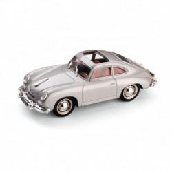 Porsche 356 Coupe Open 1952 Silver Brumm R121-04