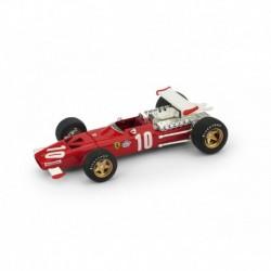 Ferrari 312 10 F1 Grand Prix d'Italie 1969 Pedro Rodriguez Brumm R256-UPD