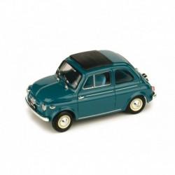 Fiat 500 Nuova Closed 1959 Light Blue Brumm R365-05
