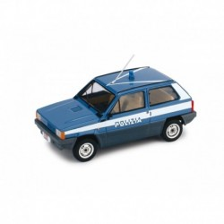 Fiat Panda 45 Police 1980 Blue White Brumm R395