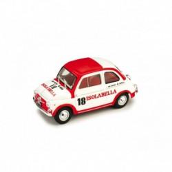 Fiat Nuova 500D Isolabella 1960 White Red Brumm R408