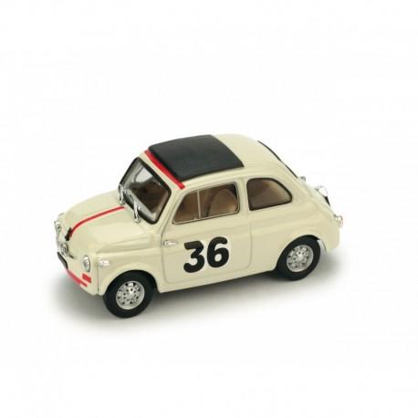 Fiat Nuova 500 36 Vallelunga 1965 Ignazio Giunti Brumm R476